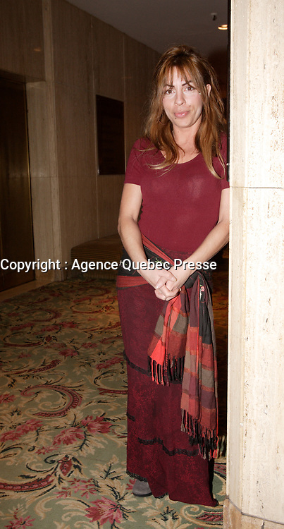 Montreal (Qc) CANADA -February 26, 2008 - <br /> Anne Casabonne, actress<br /> <br /> ,Quebec Finalists for the Genies Award that will be given March 3rd in Toronto.<br /> <br /> photo : Pierre Roussel (c)  Images Distribution