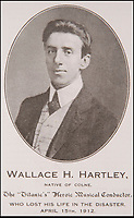 BNPS.co.uk (01202 558833)<br /> Pic: Phil Yeomans/BNPS<br /> <br /> Pictured: Wallace Hartley.<br /> <br /> A gold locket the tragic violinist on the Titanic gave to his sweetheart before he boarded the ill-fated liner has emerged for sale for £20,000.<br /> <br /> Maria Robinson kept hold of the treasured item that contained a photograph of fiance Wallace Hartley.