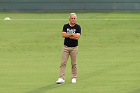 CARY, NC - AUGUST 01: Dave Sarachan watches his team during a game between Birmingham Legion FC and North Carolina FC at Sahlen's Stadium at WakeMed Soccer Park on August 01, 2020 in Cary, North Carolina.