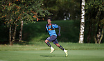Gedion Zelalem bursting his lungs to get into position for a cross