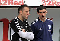 Pictured: Stephen Dobbie of Swansea City. Saturday 17 September 2011<br /> Re: Premiership football Swansea City FC v West Bromwich Albion at the Liberty Stadium, south Wales.