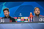 Atletico Madrid's Slovenian goalkeeper Jan Oblak holds a press conference at the Wanda Metropolitano stadium in Madrid on February 17, 2020 on the eve of their Champions League football match against Liverpool FC.<br /> (ALTERPHOTOS/David Jar)