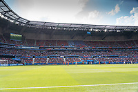 LYON, FRANCE - JULY 07: Stade de Lyon during a game between Netherlands and USWNT at Stade de Lyon on July 07, 2019 in Lyon, France.