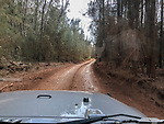 Driving From Garden Of The Gods, Keahiakawelo