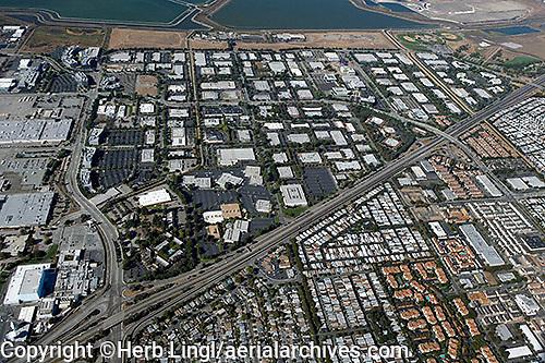 aerial photograph Sunnyvale, Santa Clara county, California