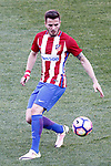 Atletico de Madrid's Saul Niguez during La Liga match. March 19,2017. (ALTERPHOTOS/Acero)