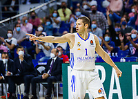 30th September 2021; Madrid, Spain:  Euroleague Basketball, Real Madrid versus Anadolu Efes Istanbul;  Fabian Caseur of team Real Madrid during theMatchday 1 between Real Madrid and Anadolu Efes Istanbul