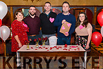 "Secret Eaters The Love Restaurant ""First Dates without the shame"" took place in the Killarney Avenue Hotel last friday night. Pictured are l-r Maeve Holly, Brian O'Donoghue, Alan O'Connor, John Martin Carroll (matchmaker) and Emma Cronin."