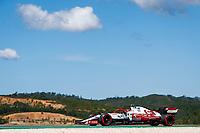 30th April 2021; Algarve International Circuit, in Portimao, Portugal; F1 Grand Prix of Portugal, Free practise:  98 ILOTT Callum (gbr), Alfa Romeo Racing ORLEN C41