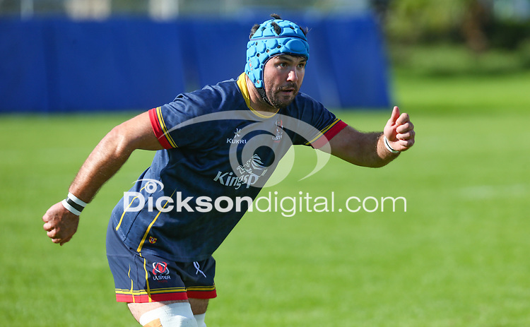 Wednesday 22nd September 2021<br /> <br /> Mick Kearney during Ulster Rugby training at Perrie Park, Belfast, Northern Ireland. Photo by John Dickson/Dicksondigital