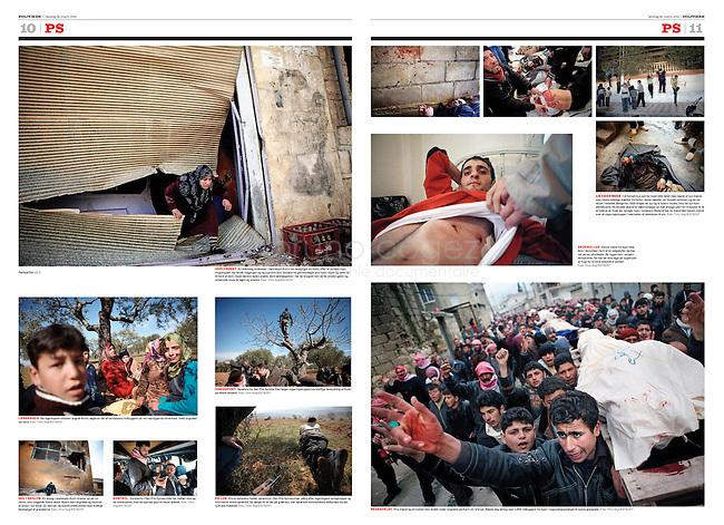 Politiken (leading Danish daily):..Syria, Idlib province -..Uprising against Assad, 03.2012..Photos: Timo Vogt