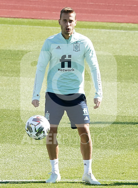 Spain's Sergio Canales during training session. October 6,2020.(ALTERPHOTOS/Acero)