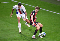 15th September 2020; Vitality Stadium, Bournemouth, Dorset, England; English Football League Cup, Carabao Cup Football, Bournemouth Athletic versus Crystal Palace; Ryan Innes of Crystal Palace defends against David Brooks of Bournemouth