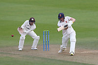 Daniel Lawrence in batting action for Essex during Surrey CCC vs Essex CCC, LV Insurance County Championship Division 2 Cricket at the Kia Oval on 12th September 2021
