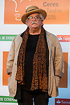 Pedro Moreno poses for the photographers during 2015 Theater Ceres Awards photocall at Merida, Spain, August 27, 2015. <br /> (ALTERPHOTOS/BorjaB.Hojas)