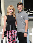 Garrett Clayton and Claudia Lee  at Variety's 7th Annual Power of Youth Event held at Universal Backlot in Universal City, California on July 27,2013                                                                   Copyright 2013 Hollywood Press Agency