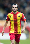 Partick Thistle v St Johnstone…28.10.17…  Firhill…  SPFL<br />Ryan Edwards<br />Picture by Graeme Hart. <br />Copyright Perthshire Picture Agency<br />Tel: 01738 623350  Mobile: 07990 594431