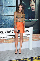 "Charlotte Wiggins<br /> at the premiere of ""The Girl on the Train"", Odeon Leicester Square, London.<br /> <br /> <br /> ©Ash Knotek  D3156  20/09/2016"