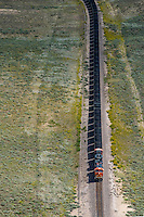 Coal train BNSF eastern Colorado. Aug 20, 2014. 812941