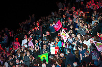 Christiane Taubira au Grand meeting de BenoÓt Hamon ‡ L'Accorhotels Arena Bercy ‡ Paris le 19 mars 2017 . # GRAND MEETING DE BENOIT HAMON A PARIS