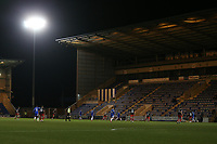 General view of the action during Colchester United vs Exeter City, Sky Bet EFL League 2 Football at the JobServe Community Stadium on 23rd February 2021