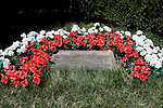June 6, 2014: The grave of Ruffian is in the Belmont Park infield. Scenes around the track on the Friday before Belmont Stakes Day. ©Joan Fairman Kanes/ESW/CSM