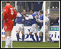 01/03/2003                   Copyright Pic : James Stewart.File Name : stewart-qots v falkirk 12.PETER WEATHERSON IS CONGRATULATED BY DEREK LYLE....James Stewart Photo Agency, 19 Carronlea Drive, Falkirk. FK2 8DN      Vat Reg No. 607 6932 25.Office     : +44 (0)1324 570906     .Mobile  : +44 (0)7721 416997.Fax         :  +44 (0)1324 570906.E-mail  :  jim@jspa.co.uk.If you require further information then contact Jim Stewart on any of the numbers above.........