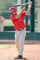 Mike Trout, Los Angeles Angels 2010 minor league spring training..Photo by:  Bill Mitchell/Four Seam Images.