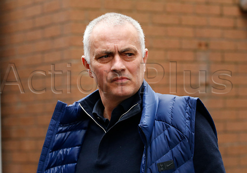 7th March 2020; Turf Moor, Burnley, Lanchashire, England; English Premier League Football, Burnley versus Tottenham Hotspur; Tottenham Hotspur manager Jose Mourinho arrives at Turf Moor before the match