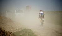 111th Paris-Roubaix 2013..unfortunate Lars Bak (DNK)