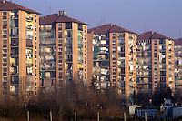 - working-class houses in the periphery....- case popolari in periferia