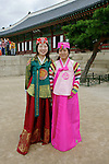 Korean Women, Gyeongbok Palace