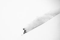 Snowboarding Aomori prefecture, Japan