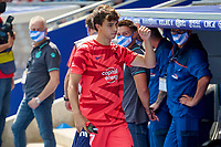 12th September 2021: Barcelona, Spain:  Joao Felix of Atletico de Madrid on the sidelines during the Liga match between RCD Espanyol and Atletico de Madrid at RCDE Stadium in Cornella, Spain.