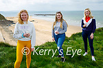 Enjoying a coffee after their stroll in Ballybunion on Easter Sunday, l to r: Niamh Stack, Zoe Prendergast and Sarah Jane Carmody.