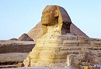 The Sphinx, Giza Plateau, near Cairo, Egypt