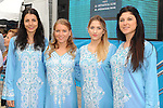 Podium girls at the end of Stage 8 of the 2015 Presidential Tour of Turkey running 124km from Istanbul to Istanbul. 3rd May 2015.<br /> Photo: Tour of Turkey/Mario Stiehl/www.newsfile.ie