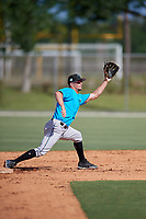 Miami Marlins Micah Brown (41) during a Minor League Spring Training Intrasquad game on March 28, 2019 at the Roger Dean Stadium Complex in Jupiter, Florida.  (Mike Janes/Four Seam Images)