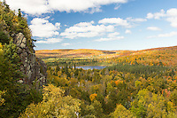 """""""Autumn Grandeur""""<br /> The views from Oberg Mountain are stunning in Autumn. We enjoy watching the clouds cast shadows as they pass overhead. We're soon in awe as the sun bathes the land, accentuating nature's brilliant palette."""