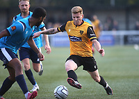 Jack Barham of Maidstone United in action during Maidstone United vs Eastbourne Borough, Vanarama National League South Football at the Gallagher Stadium on 9th October 2021