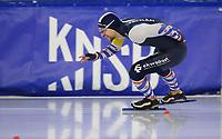 SCHAATSEN: HEERENVEEN: 10-10-2020, KNSB Trainingswedstrijd, Jesper Hospes, ©foto Martin de Jong