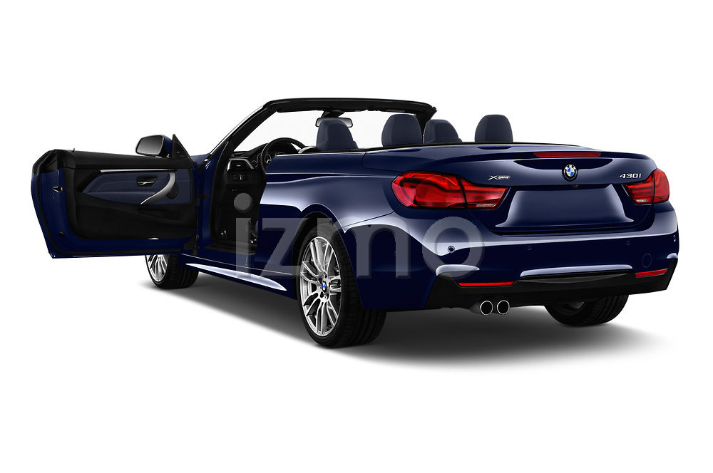Car images close up view of a 2018 BMW 4 Series M Sport 2 Door Convertible doors