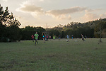 Sunset Soccer.  I love that all the kids play together!