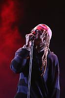 MIAMI, FL -MAY 1: Lil Wayne at Trillerfest Miami at Miami Marine Stadium on May 1, 2021. Credit: Walik Goshorn/MediaPunch
