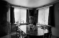 Grandmother's dining room, Oslo.<br /> <br /> Canon EOS 1, 24mm lens, Kodak TMAX 100 film