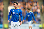 St Johnstone v Lask…26.08.21  McDiarmid Park    Europa Conference League Qualifier<br />Michael O'Halloran<br />Picture by Graeme Hart.<br />Copyright Perthshire Picture Agency<br />Tel: 01738 623350  Mobile: 07990 594431