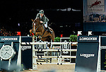 Ludger Beerbaum of Germany riding Zidenine competes at the Hong Kong Jockey Club trophy during the Longines Hong Kong Masters 2015 at the AsiaWorld Expo on 13 February 2015 in Hong Kong, China. Photo by Juan Flor / Power Sport Images