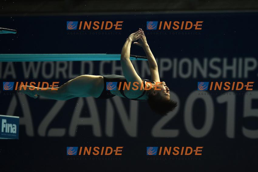 SHI Tingmao CHN Gold Medal, <br /> Day9 01/08/2015 Aquatics Center<br /> Diving - Tuffi / Women's Springboard 3m Final - Trampolino 3m Donne Finale <br /> XVI FINA World Championships Aquatics  <br /> Kazan Tatarstan RUS <br /> Photo Andrea Staccioli/Deepbluemedia/Insidefoto