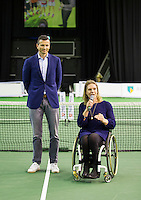 Rotterdam, The Netherlands, February 12, 2016,  ABNAMROWTT, Esther Vergeer (NED)<br /> Photo: Tennisimages/Henk Koster