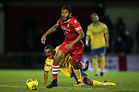 Ellis Brown of Hornchurch during Hornchurch vs Wingate & Finchley, Pitching In Isthmian League Premier Division Football at Hornchurch Stadium on 6th October 2020